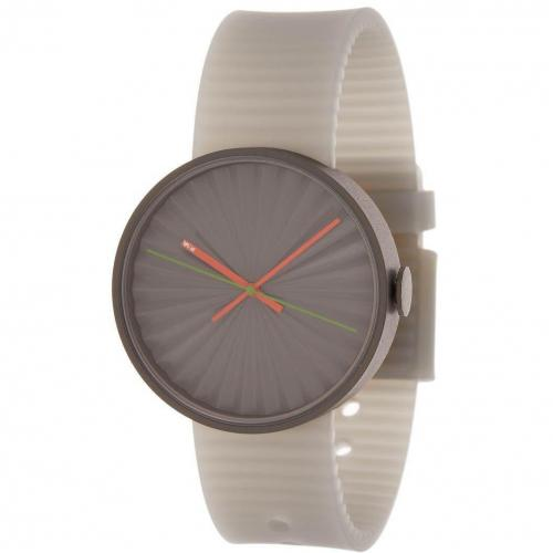 Nava Plicate Uhr grey