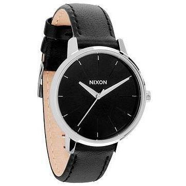 Nixon Damenuhr Kensington Leather Black 1000