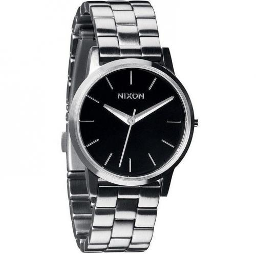 Nixon Damenuhr Small Kensington Black 1000