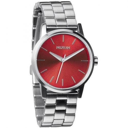 Nixon Damenuhr Small Kensington Dark Red 2260