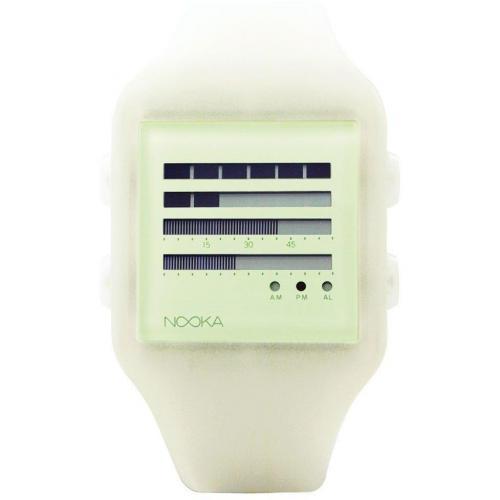 Nooka Zenh Zub Digitaluhr grün