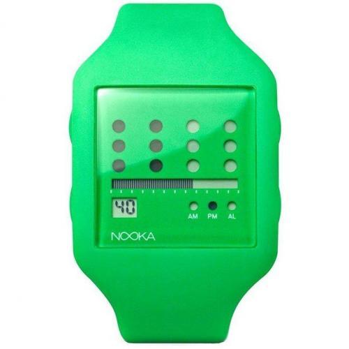 Nooka Zot Zub Digitaluhr grün