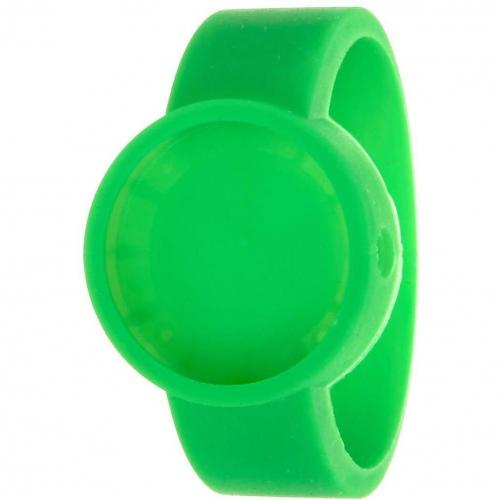 O clock Cover Uhr fluo green