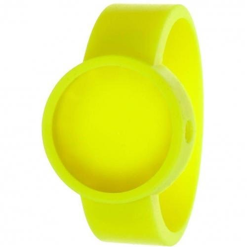 O clock Cover Uhr fluo yellow