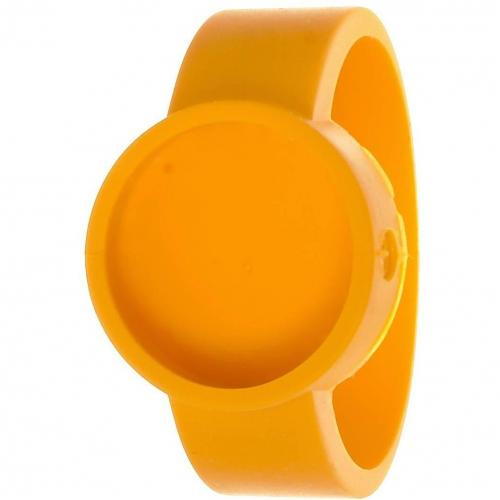 O clock Cover Uhr signal yellow