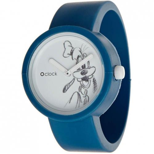 O clock Goofy Uhr blue