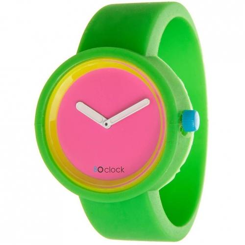 O clock Uhr fluor green