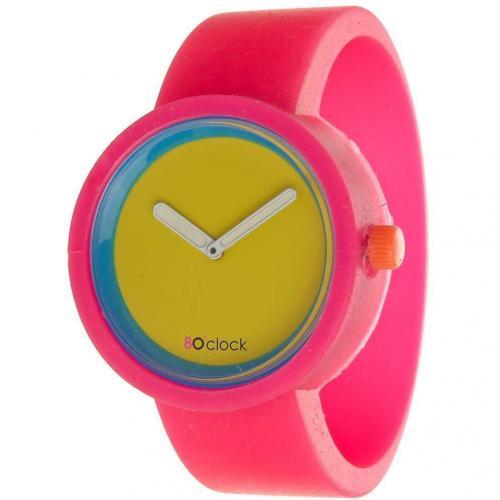 O clock Uhr fluor pink