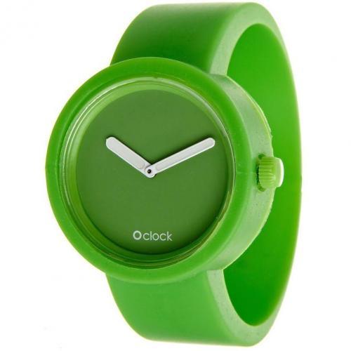 O clock Uhr green apple