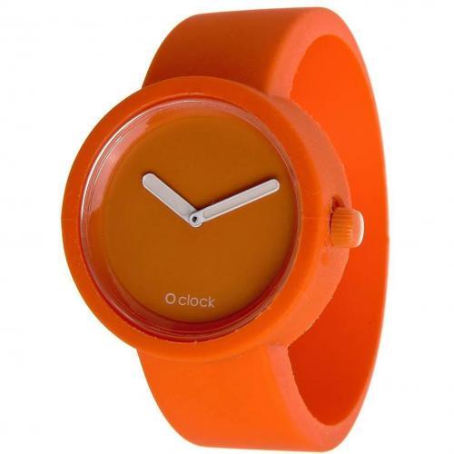 O clock Uhr orange