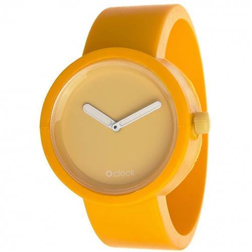O clock Uhr signal yellow