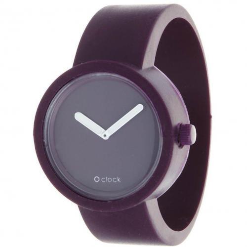 O clock Uhr traffic purple