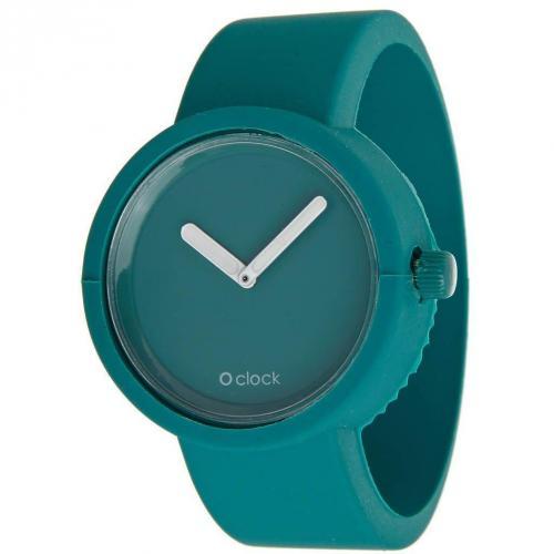 O clock Uhr water blue