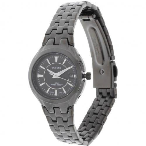 Pulsar Uhr schwarz
