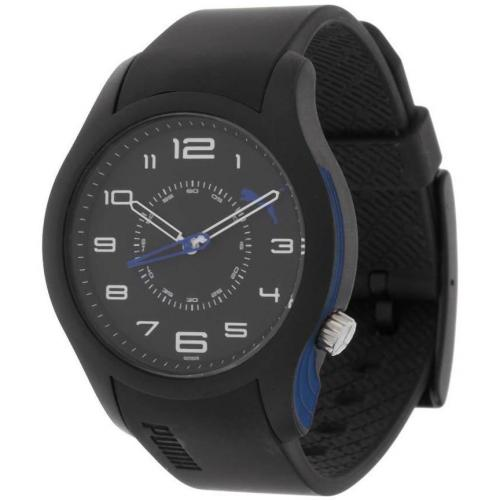 Puma Boost Uhr black/blue