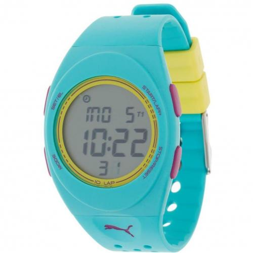 Puma Faas 250 Digitaluhr blue