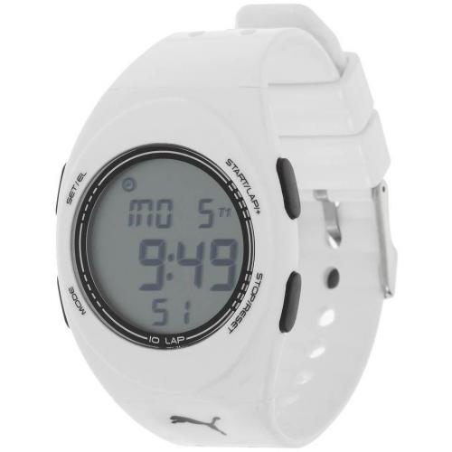 Puma Faas 250 Digitaluhr white