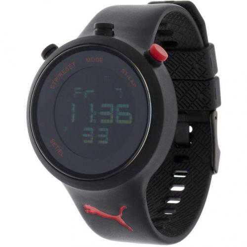 Puma Go Digitaluhr blackred