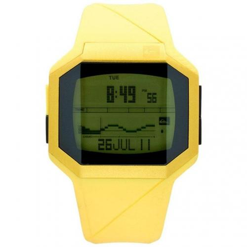 Quiksilver Addictiv Digitaluhr gelb