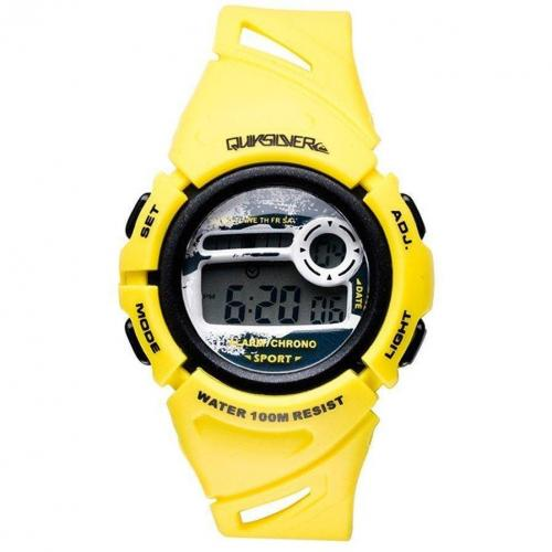 Quiksilver Windy Digitaluhr gelb