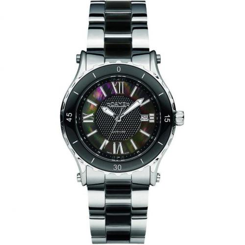 Roamer Ceraline Pure Uhr schwarz/silber