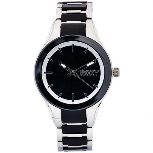 Roxy Uhr schwarzweiß