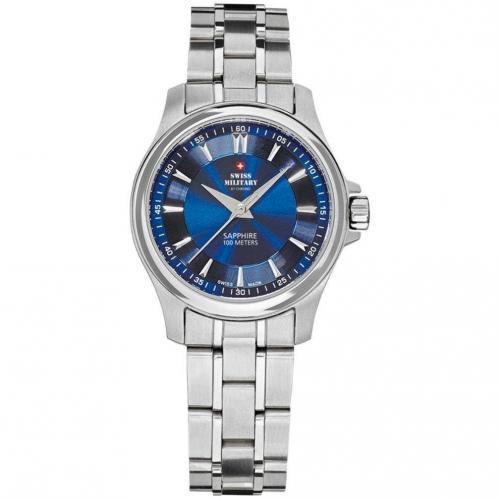 Swiss Military Uhr blau