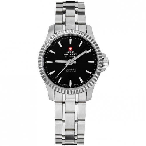 Swiss Military Uhr schwarz