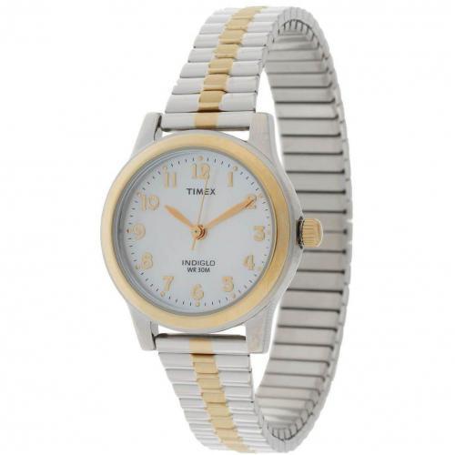 Timex T2m828 Uhr silber/gold