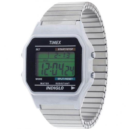 Timex T78587 Digitaluhr silber