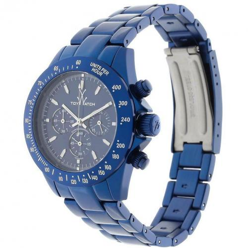 ToyWatch Chronograph blue