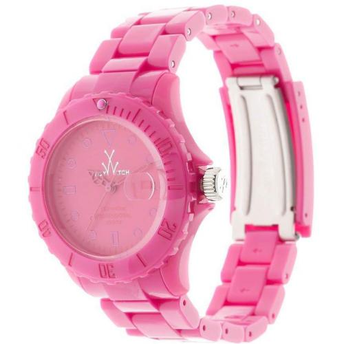 ToyWatch Monochrome Uhr hot pink