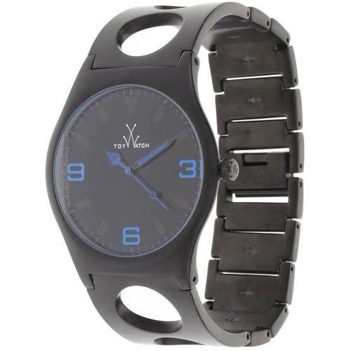 ToyWatch Uhr black aus mattem Edelstahl