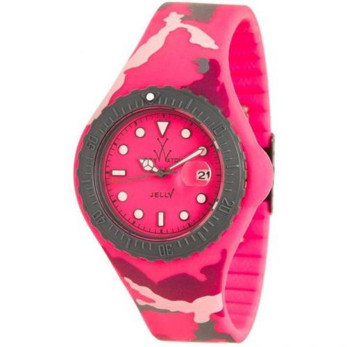ToyWatch Uhr pinkgrau/mehrfarbig