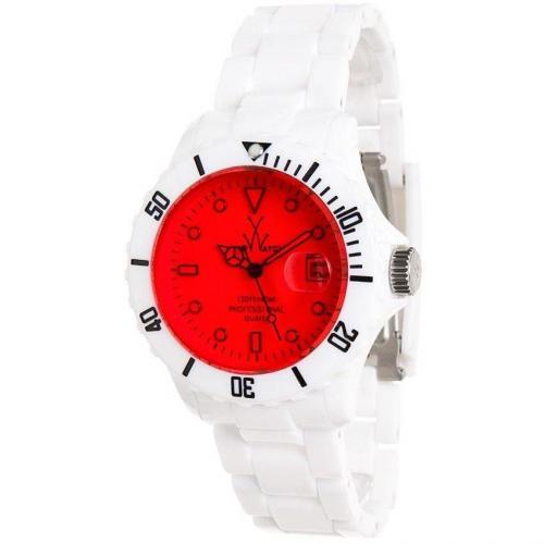 ToyWatch Uhr rot/weiß