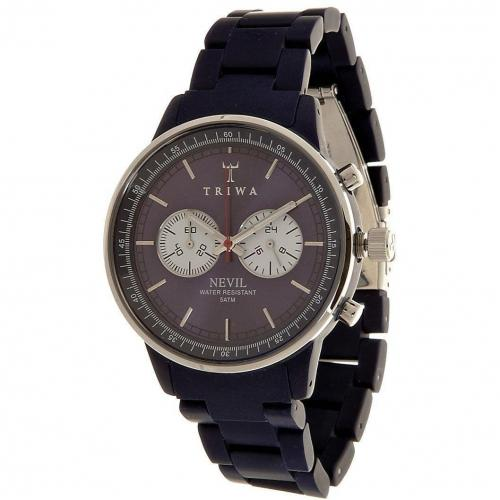 Triwa Blue Bird Nevil Chronograph blue