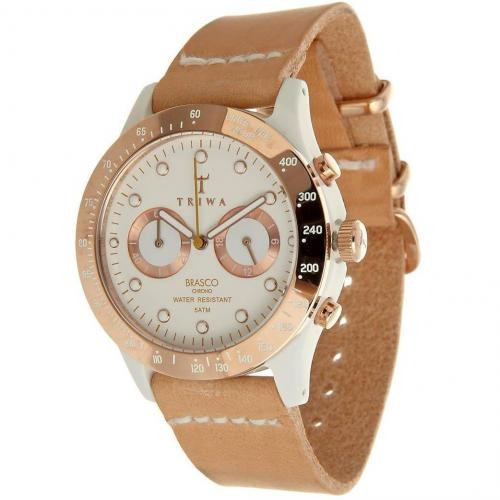 Triwa Brasco Ivory Rose Uhr tan