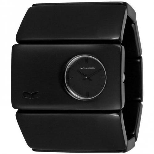 Vestal Rosewood Acetate Uhr schwarz