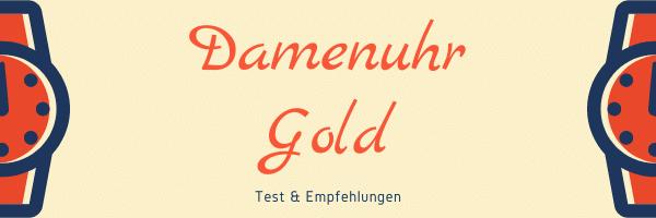 Damenuhr Gold