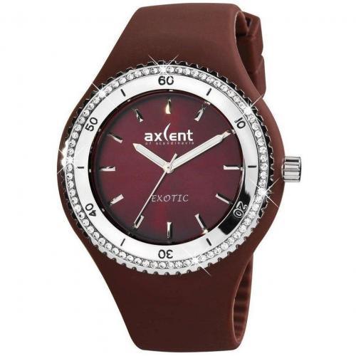 Exotic Uhr dunkelbraun von Axcent