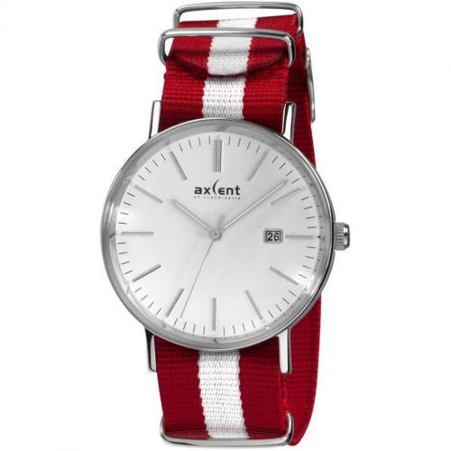 Uhr rot von Axcent