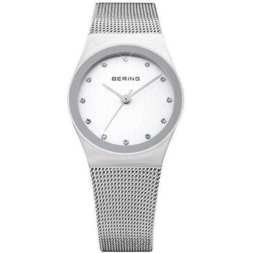 Funk Uhr silber/weiß von Bering