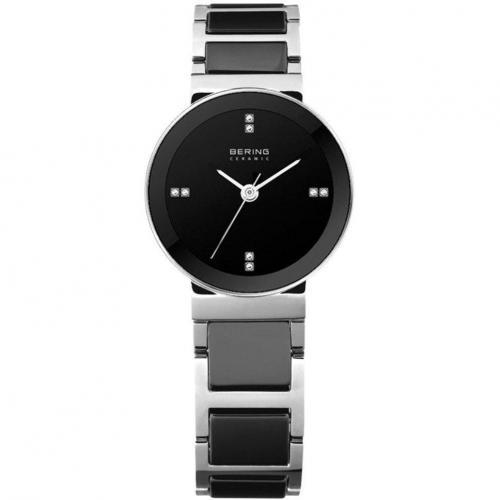 Uhr schwarz von Bering