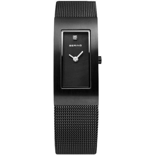 Uhr schwarz 50m wasserdicht von Bering