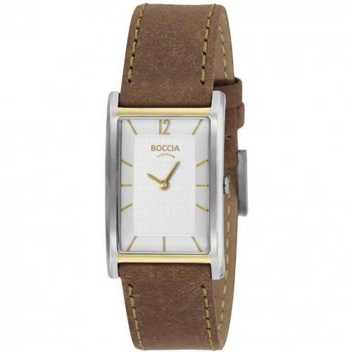 Titanium Uhr braun von Boccia