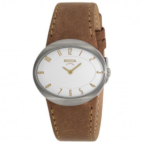 Trend Titanium Uhr weiß von Boccia