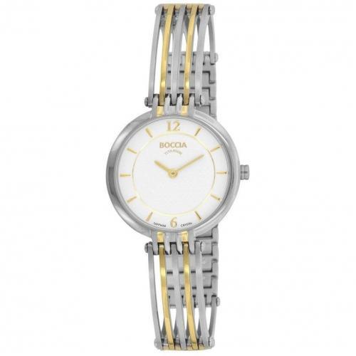 Uhr gold von Boccia