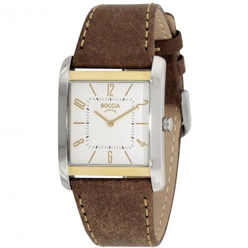 Uhr weiß von Boccia