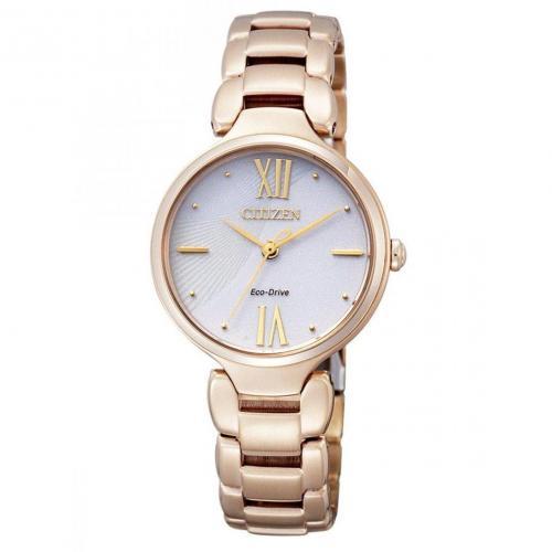 Lady Uhr gold/weiß von Citizen