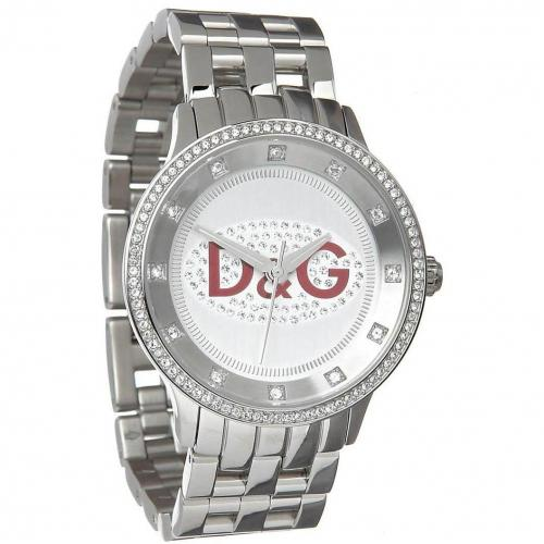 Prime Time Uhr edelstahl/rot von D&G